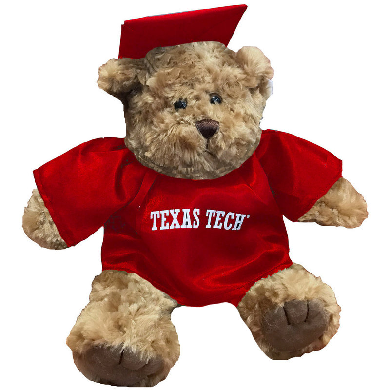 Grad Teddy Bear Red