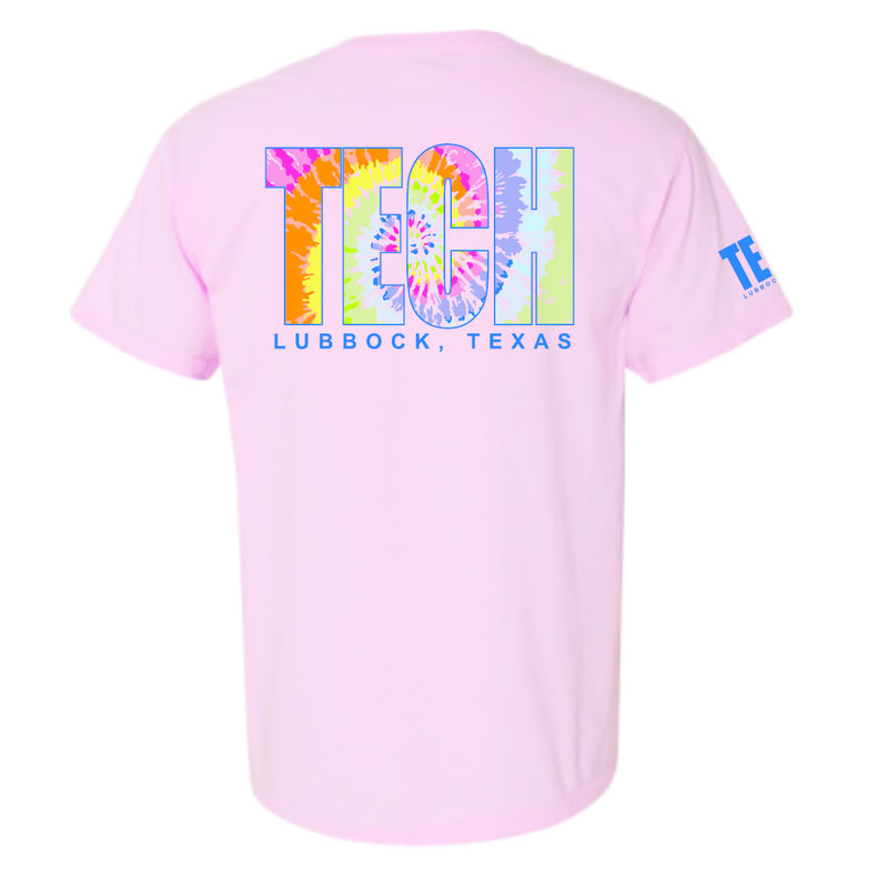 Tie Dye Techler Short Sleeve Tee