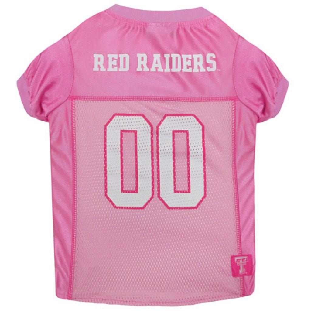Dog Mesh Jersey Top Pink