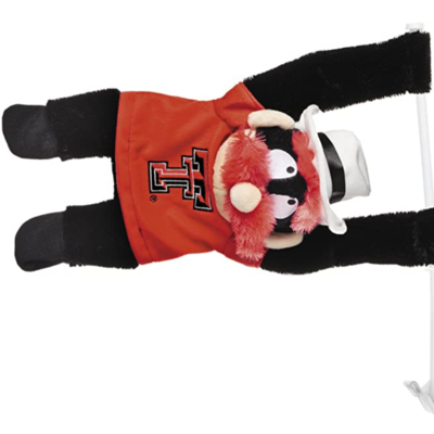 Raider Red Mascot Car Flag