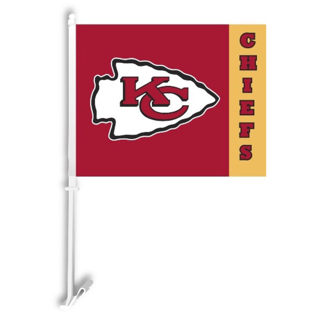 Kansas City Logo Car Flag