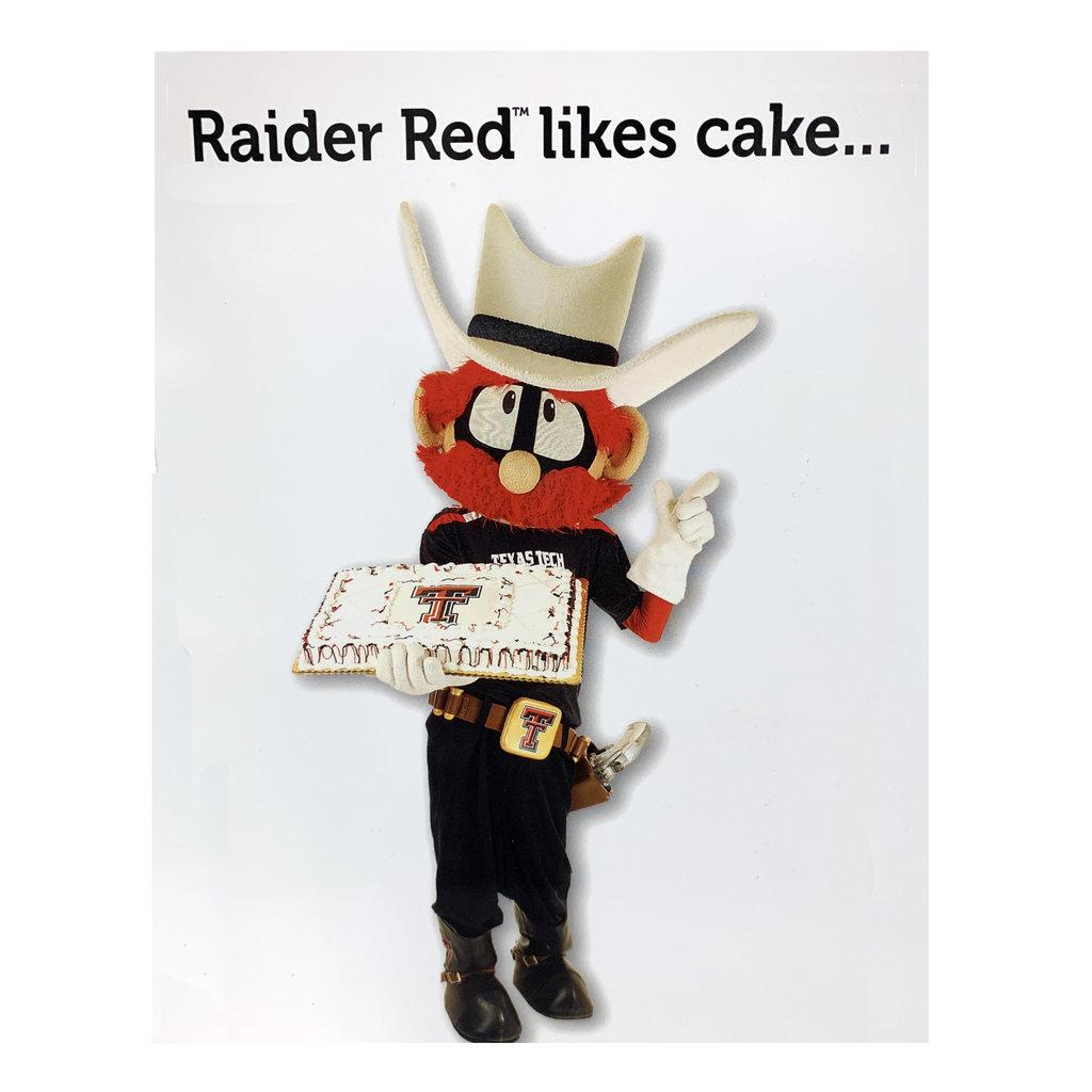 Raider Red Greeting Card