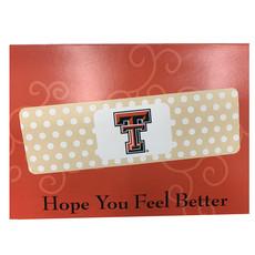 Hope You Feel Better Soon Band Aid Card