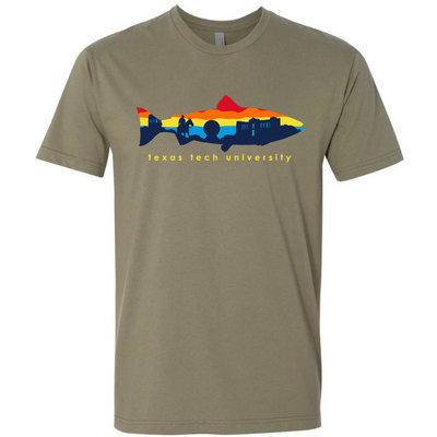 Fish Skyline Short Sleeve Tee