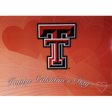 Happy Valentine's Day Double T Card