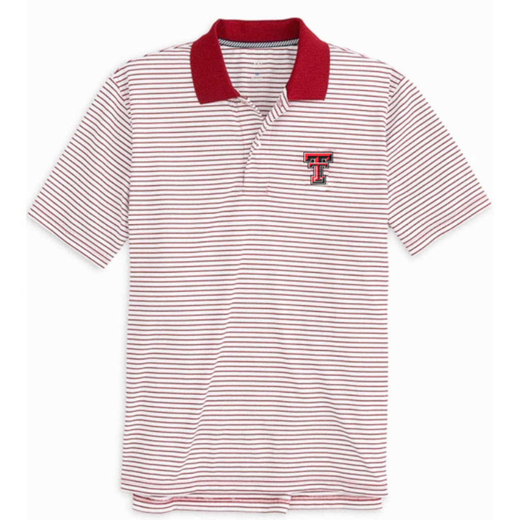 Southern Tide Gameday Pique Stripe Polo