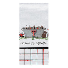 Eat, Drink & Go Tailgate Hand Towel