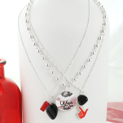 Wreck em Trio Necklace Set