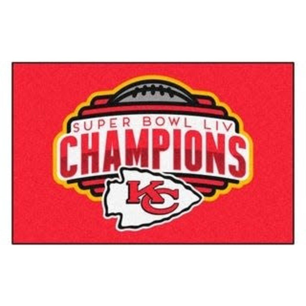 Kansas City Chiefs Superbowl Champion 3x5 Flag