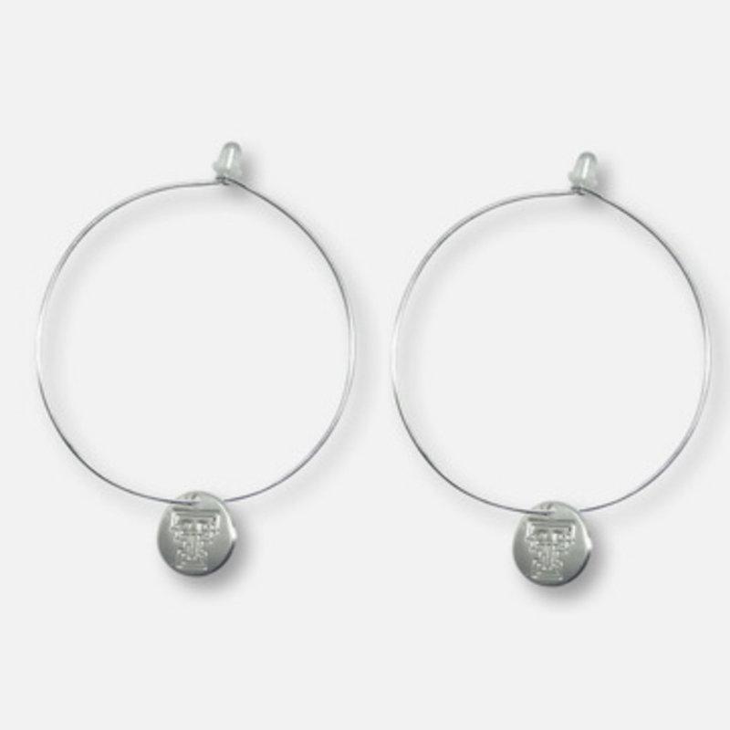 Quinn Brass Wire Silver Earrings