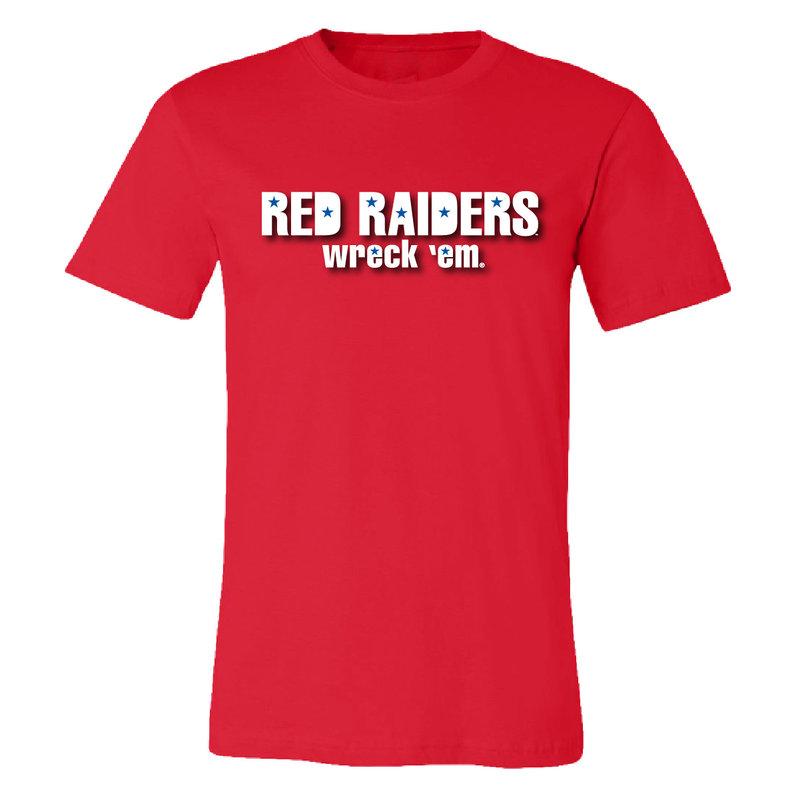 Red Raider Stars Short Sleeve Tee