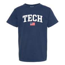 Tech Arch USA Youth Short Sleeve Tee