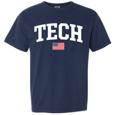 Tech Arch USA Short Sleeve Tee