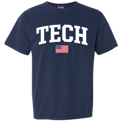 Tech Arch USA Short Sleeve Tee