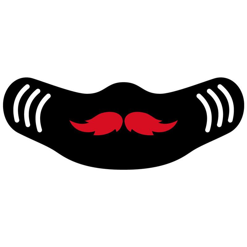 Neoprene Mustache Face Mask