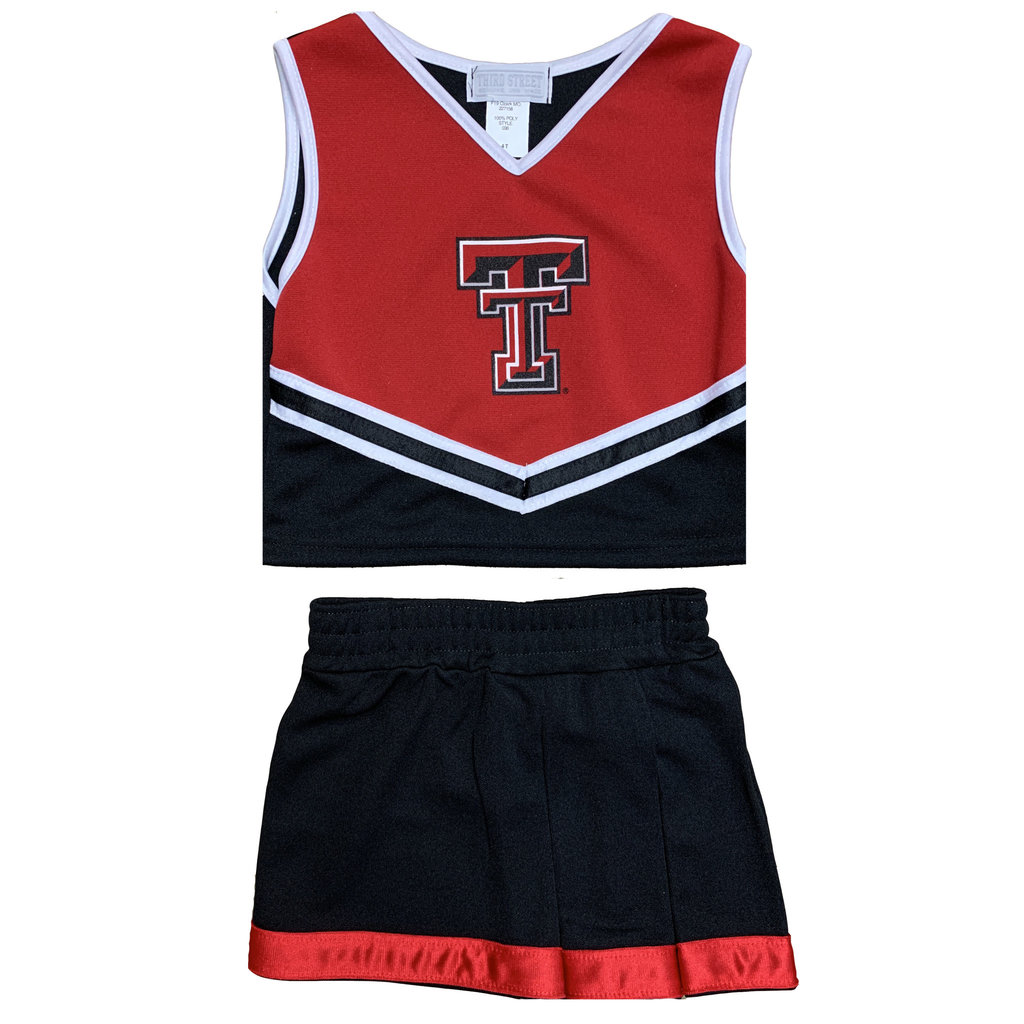 Youth Two Piece Double T Cheer Suit