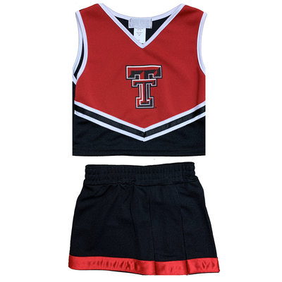 Toddler Two Piece Double T Cheer Suit