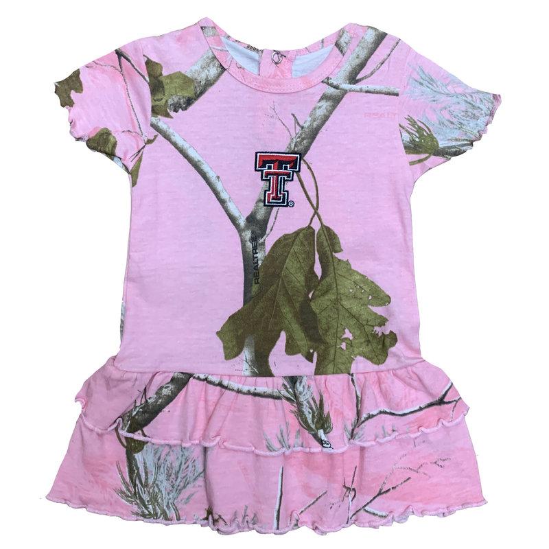 2 Tier Pink Camo Dress