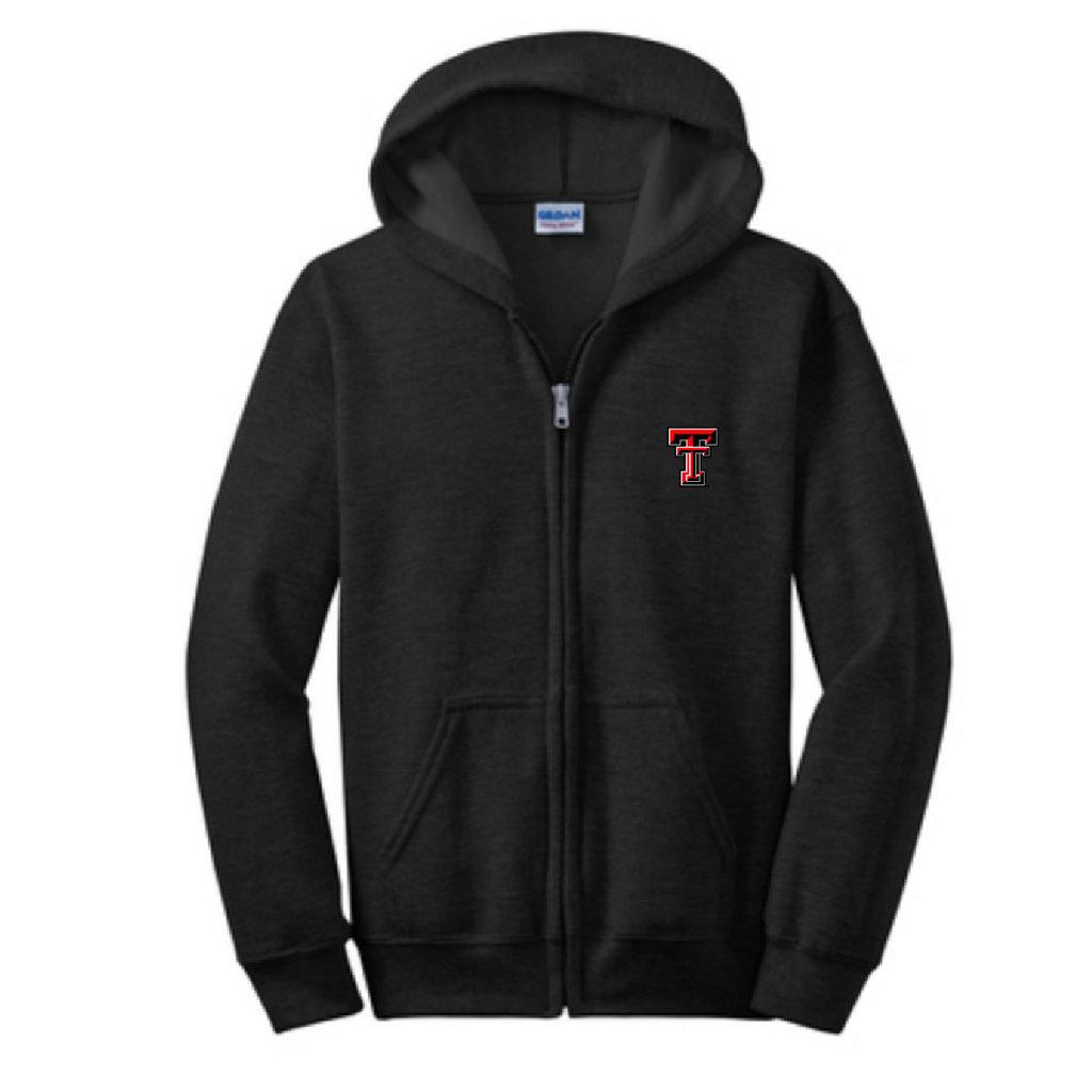 Youth Full Zip Sweatshirt