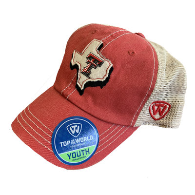 United Adjustable Youth Two Tone Texas Cap
