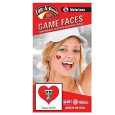 Game Face Heart Tattoo Pack