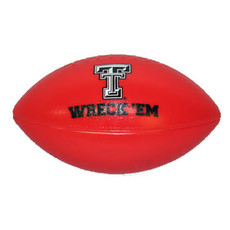 Plastic Football w/ Double T & Wreck 'Em