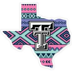 Aztec Texas Decal
