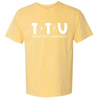 TTU Lightening Short Sleeve Tee