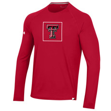Under Armour Sideline Long Sleeve Training Tee Box Double T
