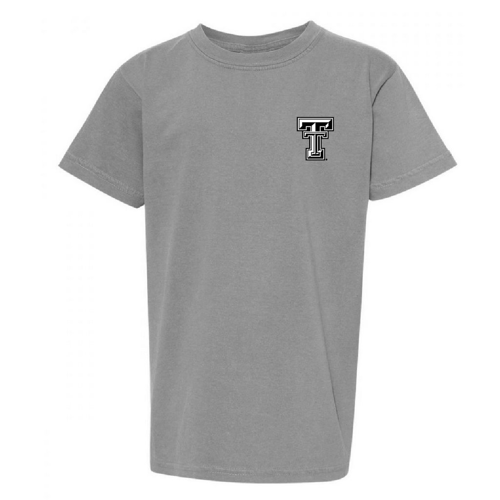 LBK State Letters Youth Short Sleeve Tee