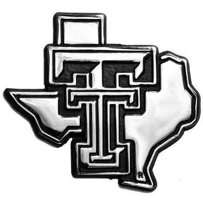 Auto Emblem State of TX with Double T