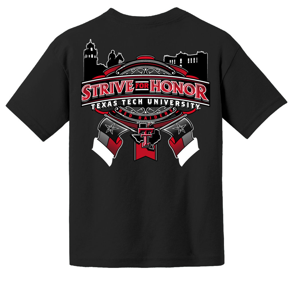 Wreck em Strive for Honor Youth Short Sleeve Tee