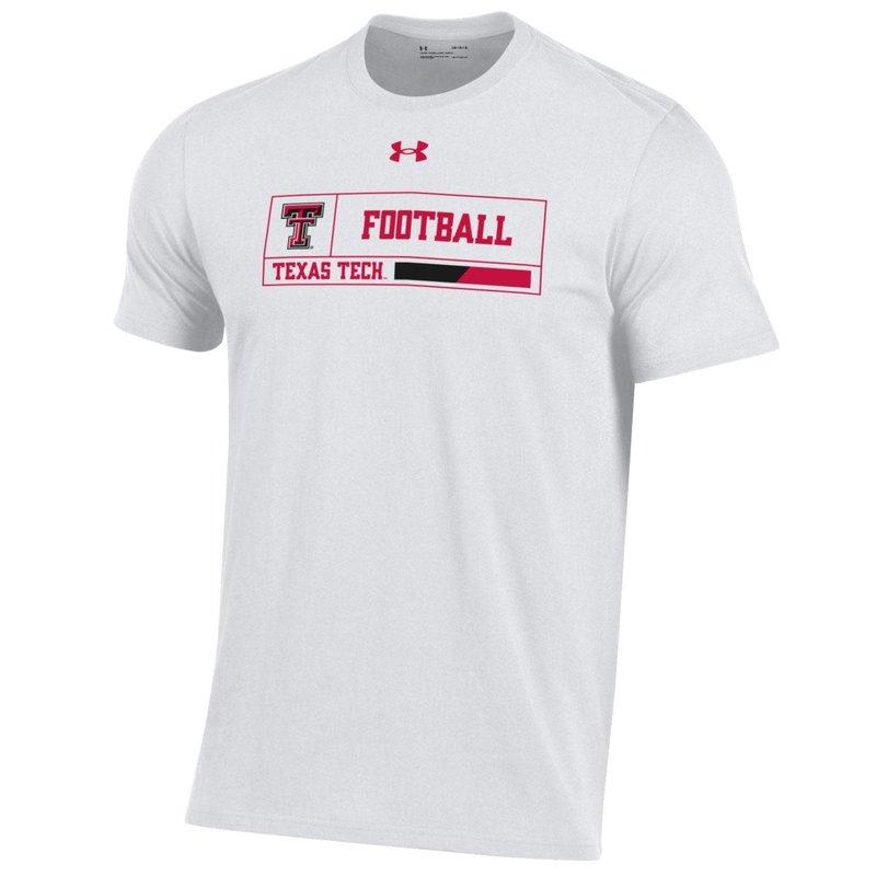 Under Armour Football Outline Box Short Sleeve Tee