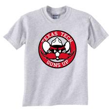 Raider Red Circle Short Sleeve Youth Tee