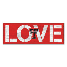 LOVE Double T Wood Sign 8 x 23