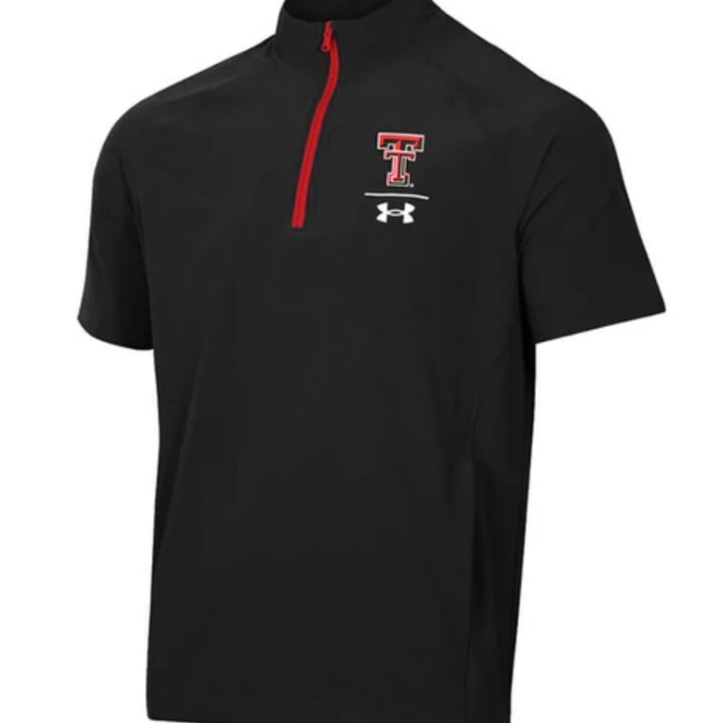 Under Armour Squad Coach Short Sleeve 1/4 Zip Jacket