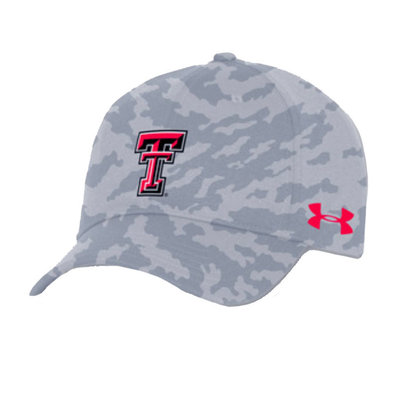 Under Armour Grey Camo Stretch Cap