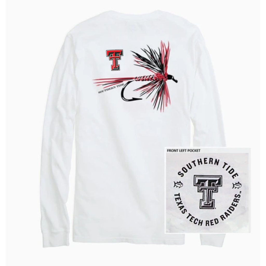 Southern Tide Gameday Fly Long Sleeve Tee