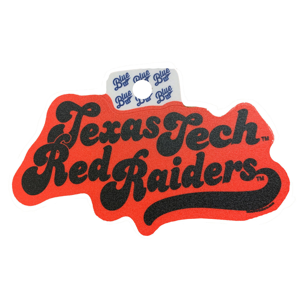 Groovy Bubble Texas Tech Sticker