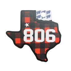 Buffalo Plaid Texas 806 Sticker
