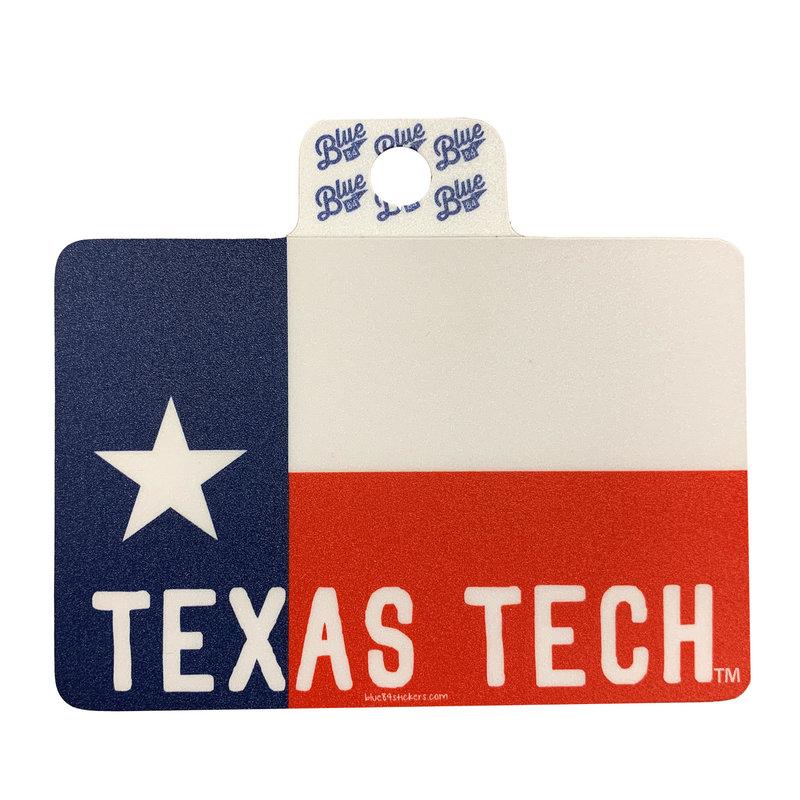 Texas Flag Texas Tech Sticker