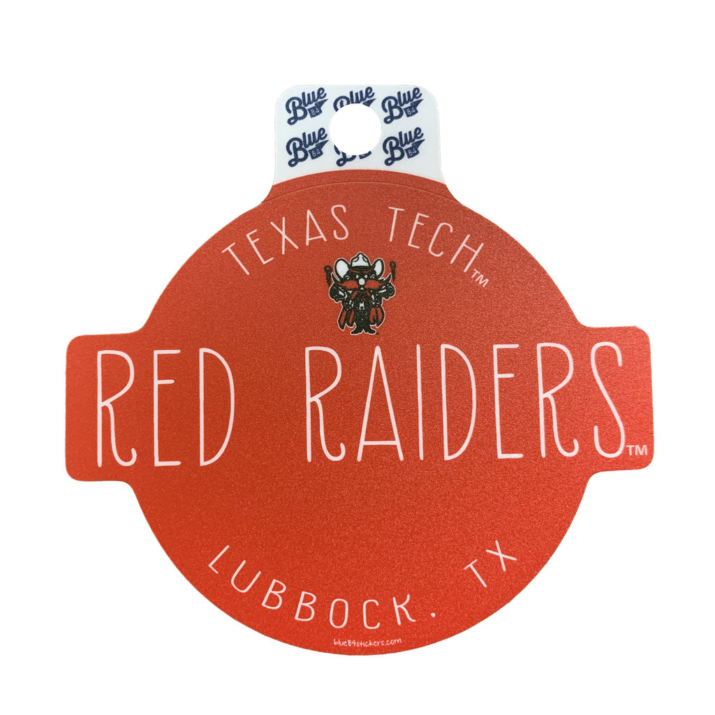 Raider Red Likeable Sticker