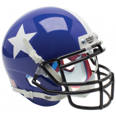 Schutt  Mini Texas Flag Red, White & Blue Helmet