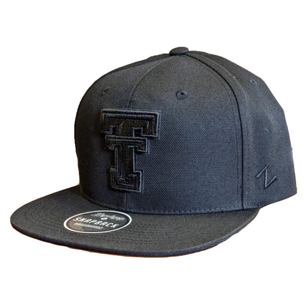 Zephyr Salem Z11 Flatbill Black on Black Cap