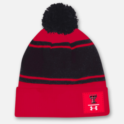 Under Armour POM Patch Beanie