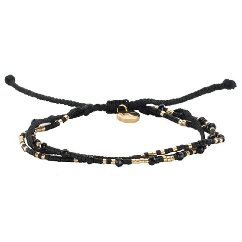 Rustic Cuff Gloria Rope Braid Bracelet - Multiple  Color Options