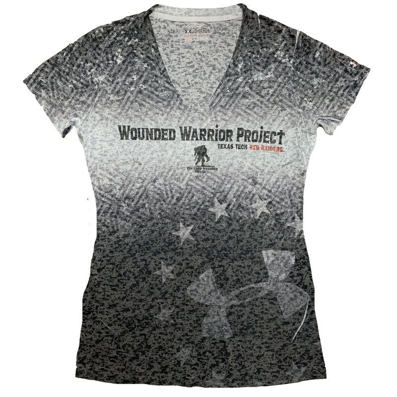 Under Armour Ladies Wounded Warrior V-Neck SST