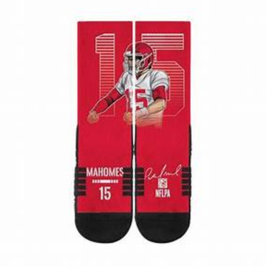 Mahomes 15 Socks Size M/L
