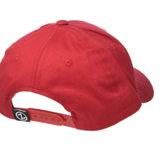 Zephyr Broadway Red Arch Structured Cap