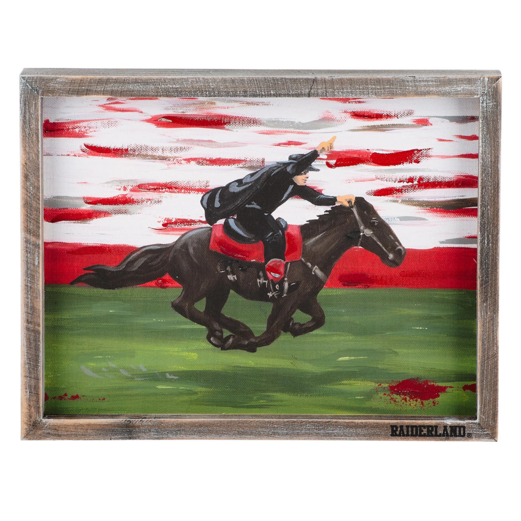 Painted Masked Rider Frame 10 x 13